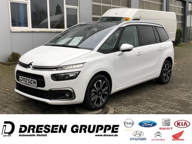 Citroën Grand C4 Space Tourer Shine EU6d 7-Sitzer+Navi+360 Grad Kamera+Panoramadach+SHZ, Jahr 2020, Diesel
