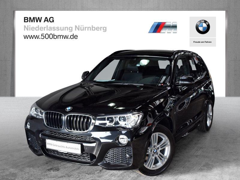 BMW X3 xDrive20d EURO6 Sportpaket HiFi Var. Lenkung Xenon Shz, Jahr 2017, Diesel
