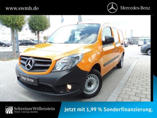 Mercedes-Benz Citan 109 CDI MIXTO *AHK*Gitter*Radio*GJR*1.Hd*, Jahr 2016, Diesel