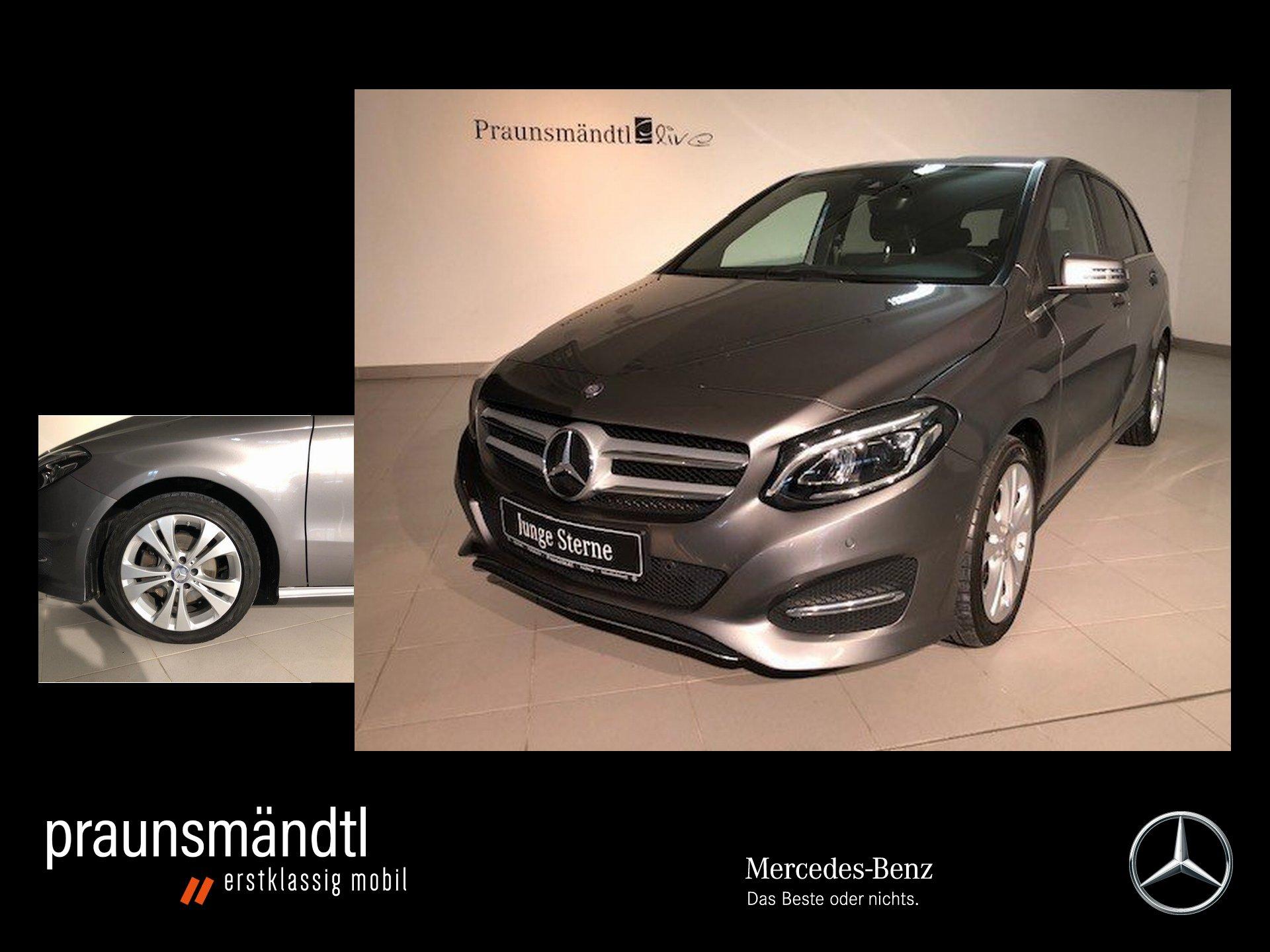 Mercedes-Benz B 200 Urban LED/Navi/SHZ/PTS/Kamera/Totw/Tempoma, Jahr 2016, Benzin