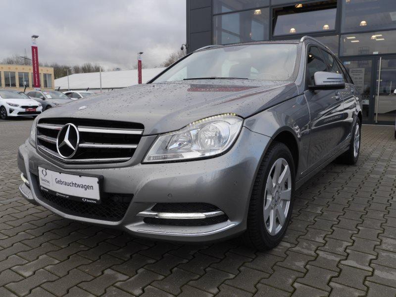 Mercedes-Benz C 220 CDI T-Modell Navi+SHZ+LED+Schiebedach+Garantie, Jahr 2014, Diesel