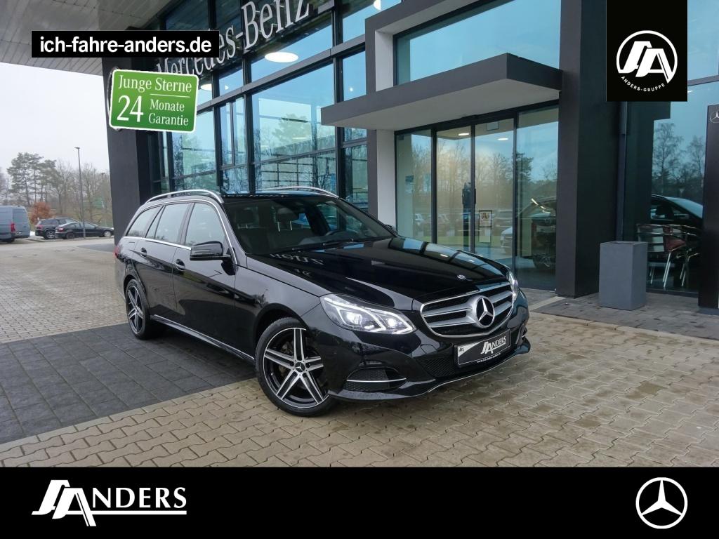 Mercedes-Benz E 400 4M T Avantgarde+Comand+LED+PDC+SHZ+Tempom., Jahr 2016, Benzin