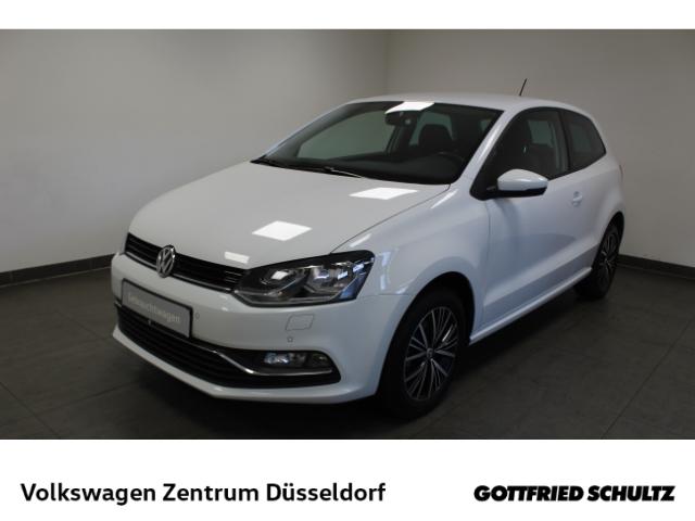Volkswagen Polo Allstar 1.0 *PDC*GRA*SHZ*Alu*, Jahr 2016, Benzin