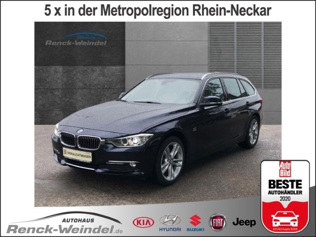 BMW 318 d Luxury Leder Navi Keyless Rückfahrkam. Panorama Holzausst. El. Heckklappe PDCv+h, Jahr 2014, Diesel