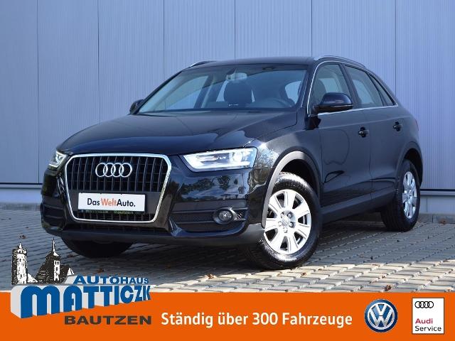 Audi Q3 2.0 TDI AHK/XENON/APS/GRA/SHZ/CLIMATRONIC/KOM, Jahr 2013, Diesel
