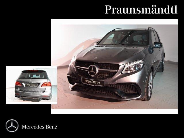 Mercedes-Benz GLE 63 AMG S 4M DISTRONIC/Standhzg/VMAX/AIRMATIC, Jahr 2017, petrol