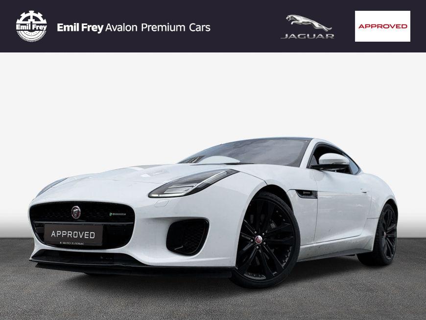 Jaguar F-Type Coupe P300 Aut. R-Dynamic, Jahr 2019, Benzin
