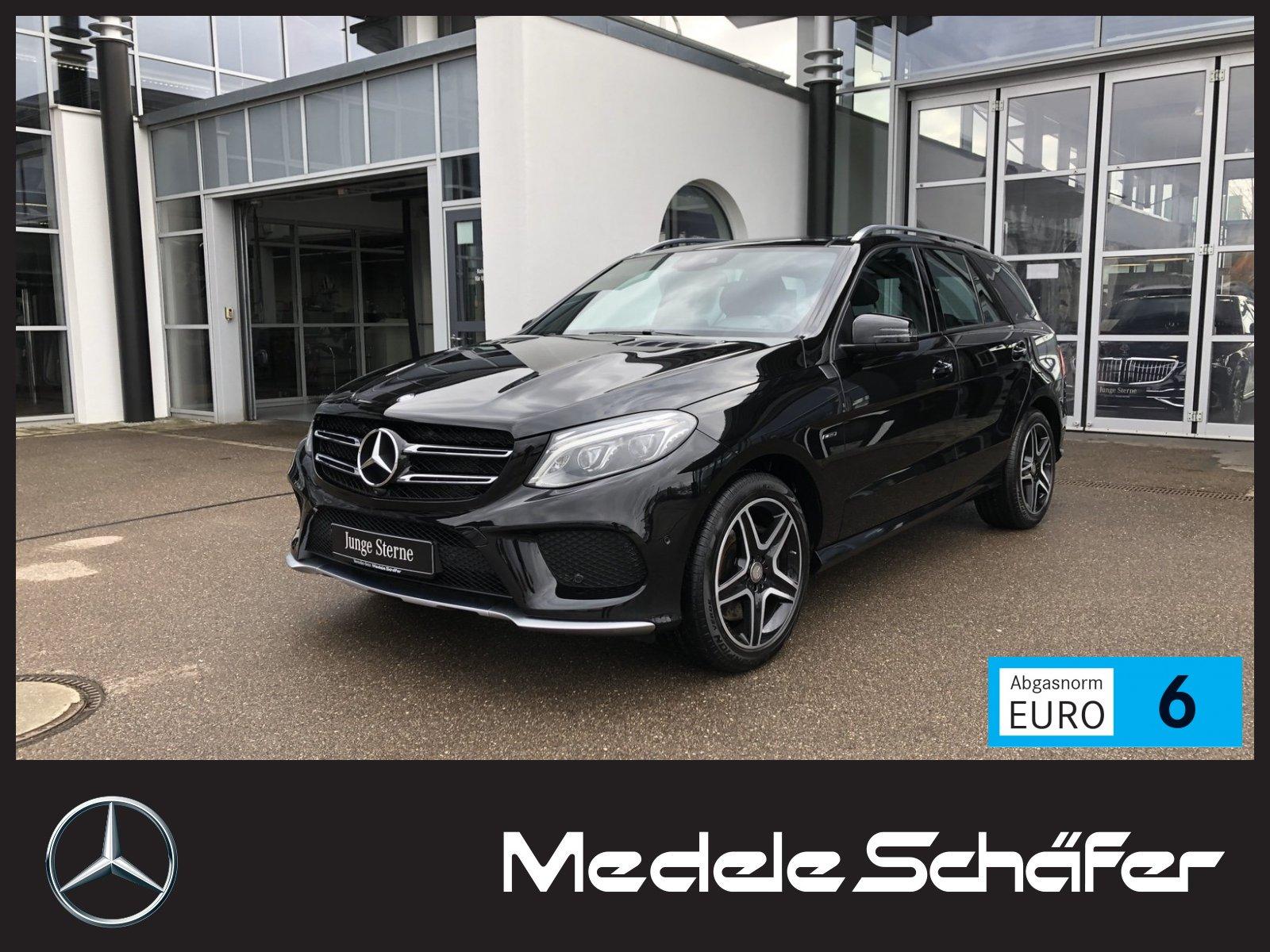 Mercedes-Benz GLE 450/43 AMG 4M 9G Pano Airm 360° AHK LED Harm, Jahr 2016, Benzin
