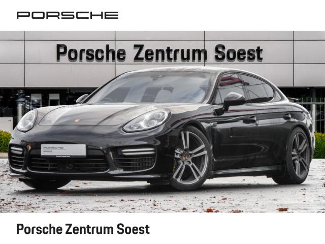 Porsche Panamera Turbo /BURMESTER/LEDER/ACC/KERAMIK-BREMSE, Jahr 2013, petrol