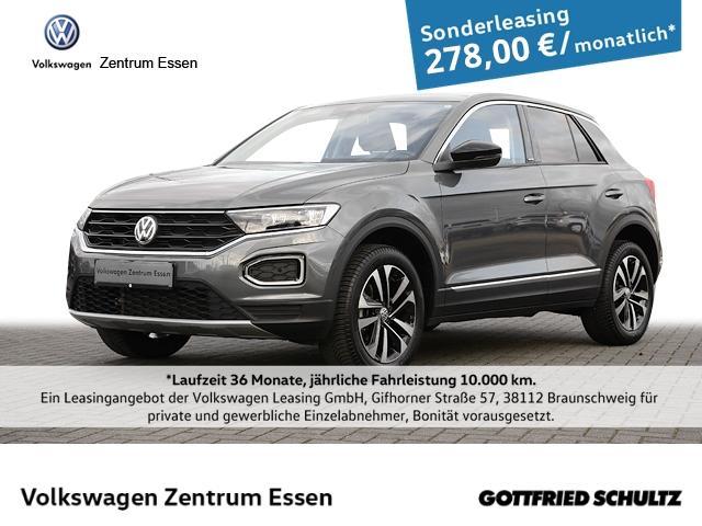 Volkswagen T-Roc United 1,5 TSI LED Navi SHZ PDC Alu, Jahr 2020, Benzin