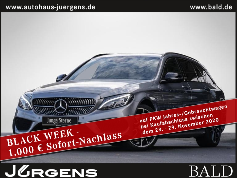 Mercedes-Benz C 450 AMG 4M T Comand/ILS/360/Burm/Memo/HUD/19', Jahr 2015, Benzin