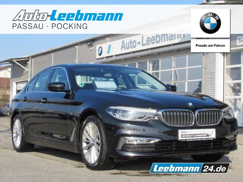 BMW 525d Lim. Aut. Luxury 4xSHZ/Adp.LED 2. J.GARANTI, Jahr 2017, Diesel