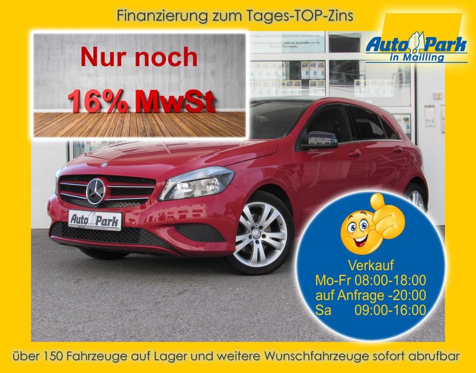 Mercedes-Benz A 180 SHZ~NAVI~2x PDC~RFK~MFL~BT~ALU~KLIMA~USB, Jahr 2015, Benzin