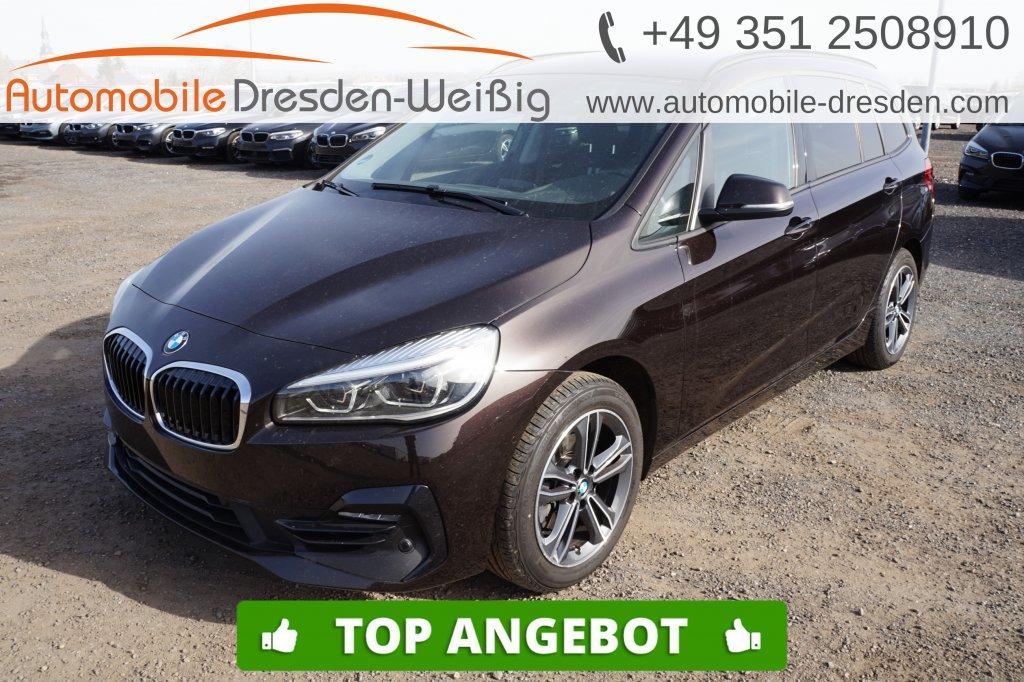 BMW 216 Gran Tourer i Sport Line*Navi*UPE 40.610€, Jahr 2019, Benzin