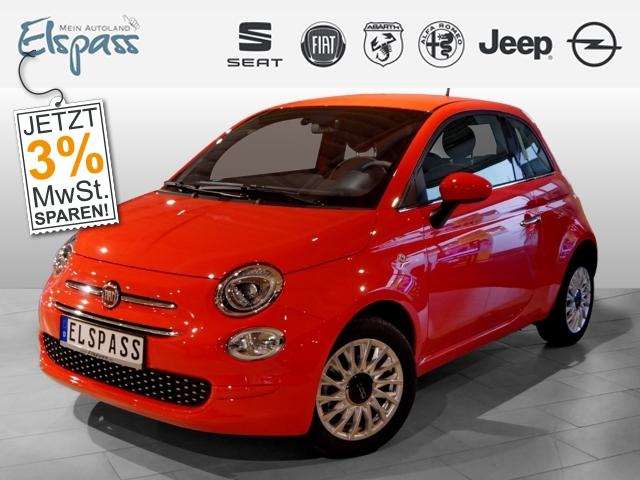 Fiat 500 Lounge 1.2 4J.GARANTIE KLIMA PDC ALU 7''TOUCH, Jahr 2019, Benzin