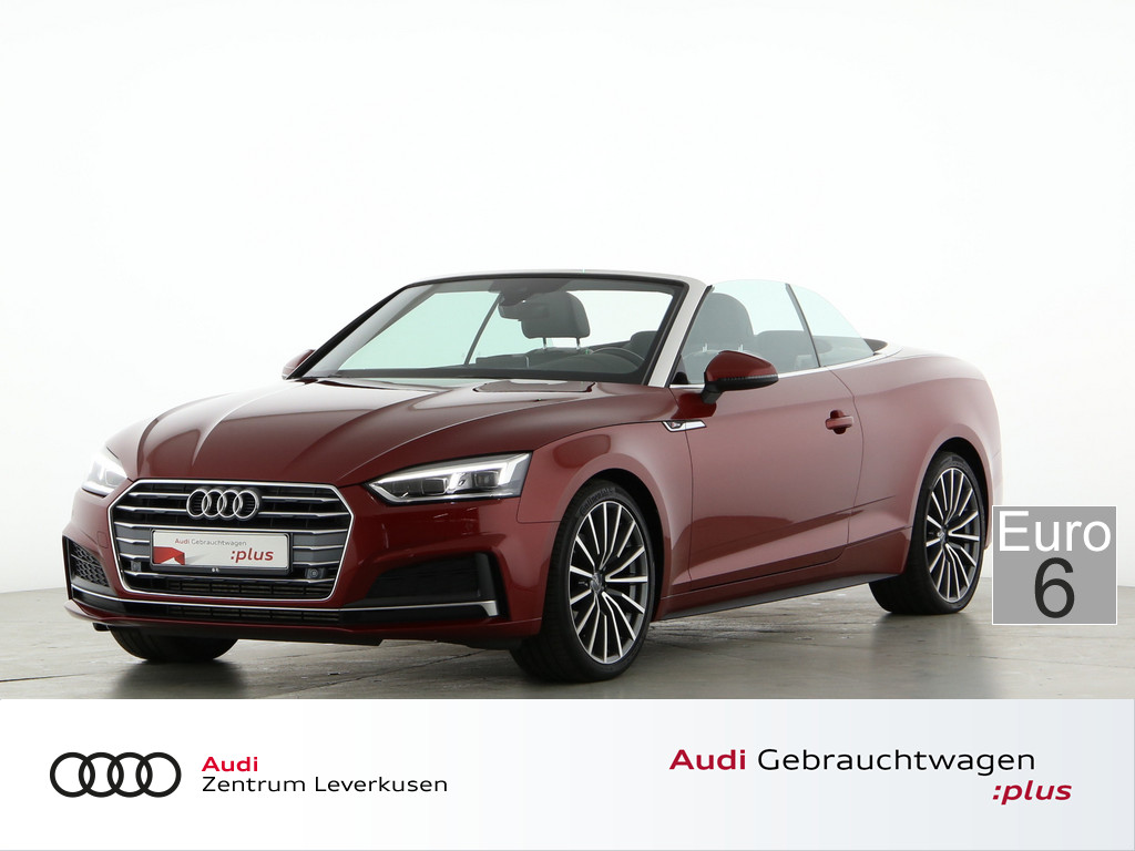 Audi A5 Cabriolet 2.0 TFSI sport, Jahr 2018, Benzin