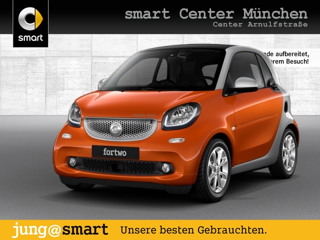 smart fortwo coupé 60kWed passion cool&Audio SHZ Pano, Jahr 2017, Elektro