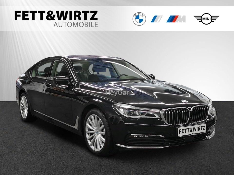BMW 730d DA+ Laser HUD Navi Stop&Go Kamera HiFi 19'', Jahr 2016, Diesel