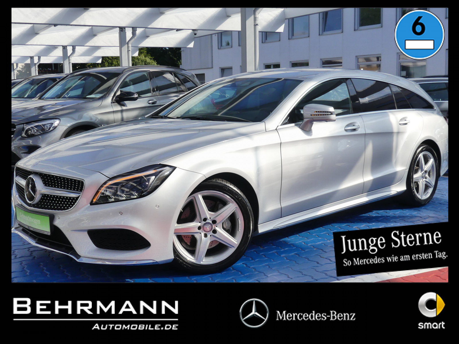 Mercedes-Benz CLS 400 Shooting Brake +AMG+360°Kamera+Distronic, Jahr 2015, Benzin