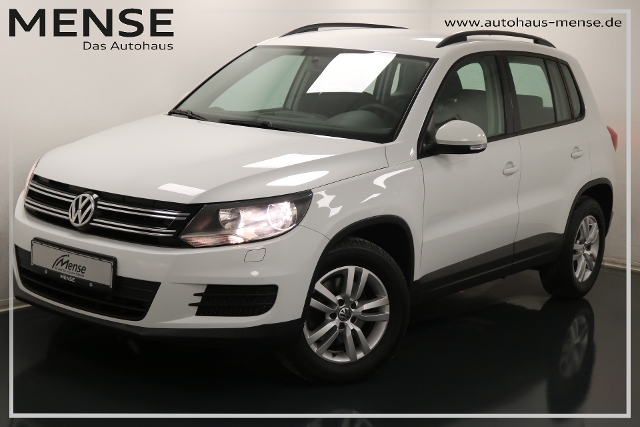 Volkswagen Tiguan 1.4 TSI Trend & Fun Navi Sitzhzg ParkPilo, Jahr 2015, Benzin