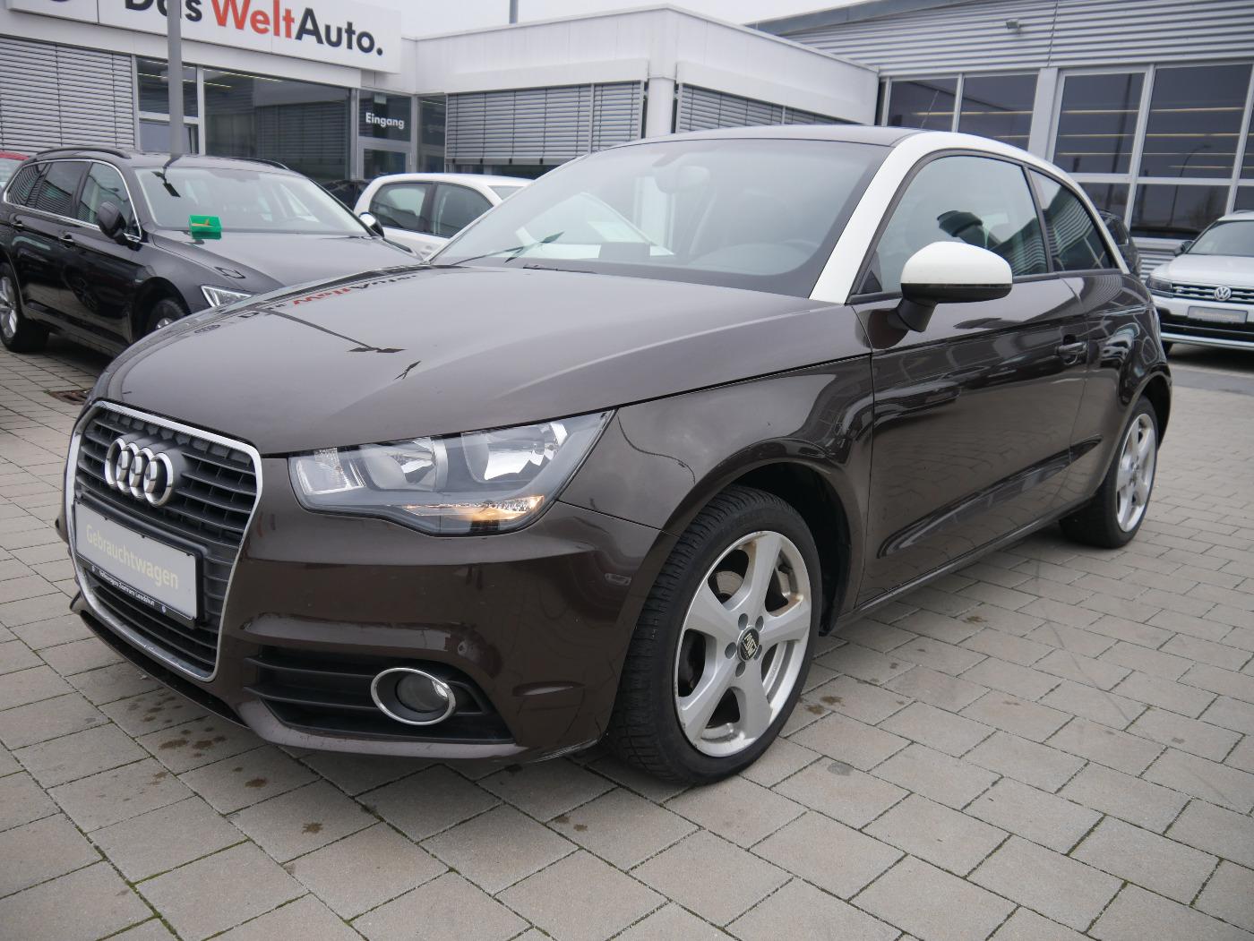 Audi A1 1.2 TFSI Ambition Sportsitze Sitzh. Garantie, Jahr 2012, Benzin