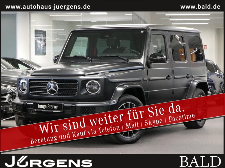 Mercedes-Benz G 500 AMG-Sport/Comand/Wide/360/SHD/Stdhz/Magno, Jahr 2018, Benzin