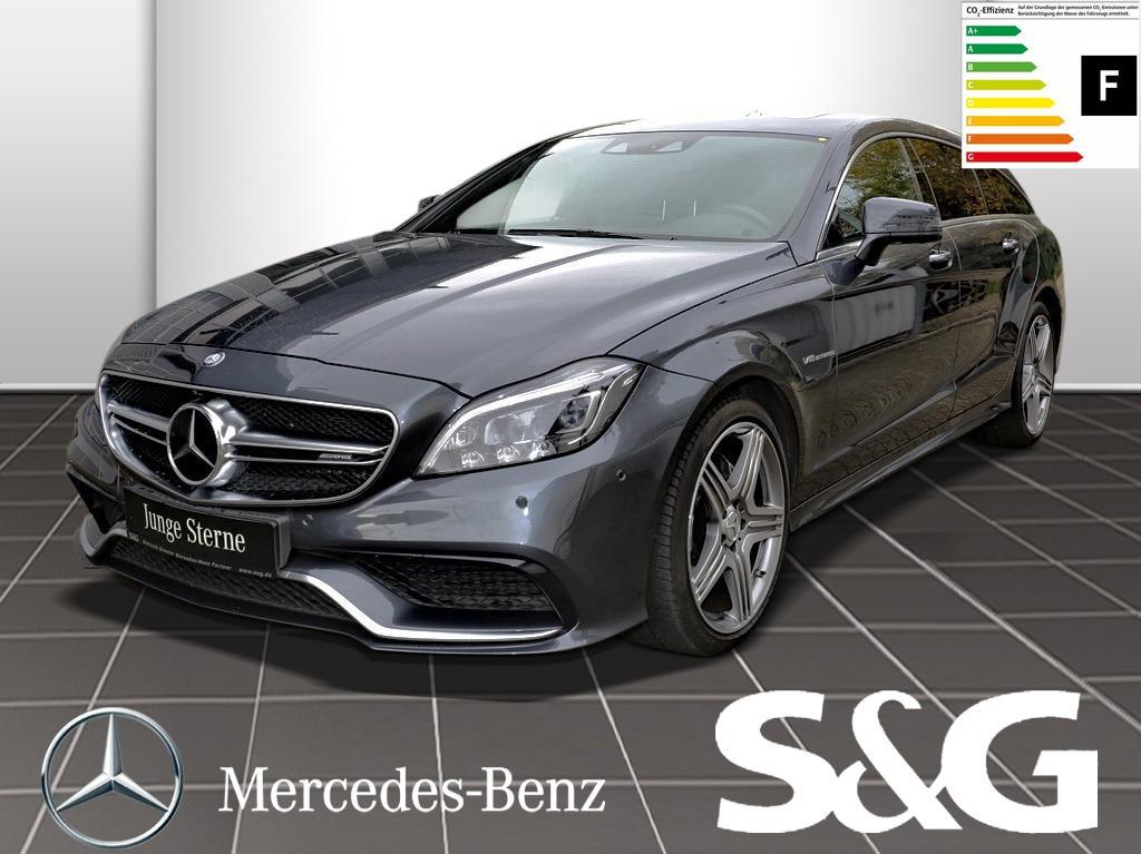 Mercedes-Benz CLS 63 AMG Shooting Brake 4M/DriversPack/Sitzkl., Jahr 2015, Benzin