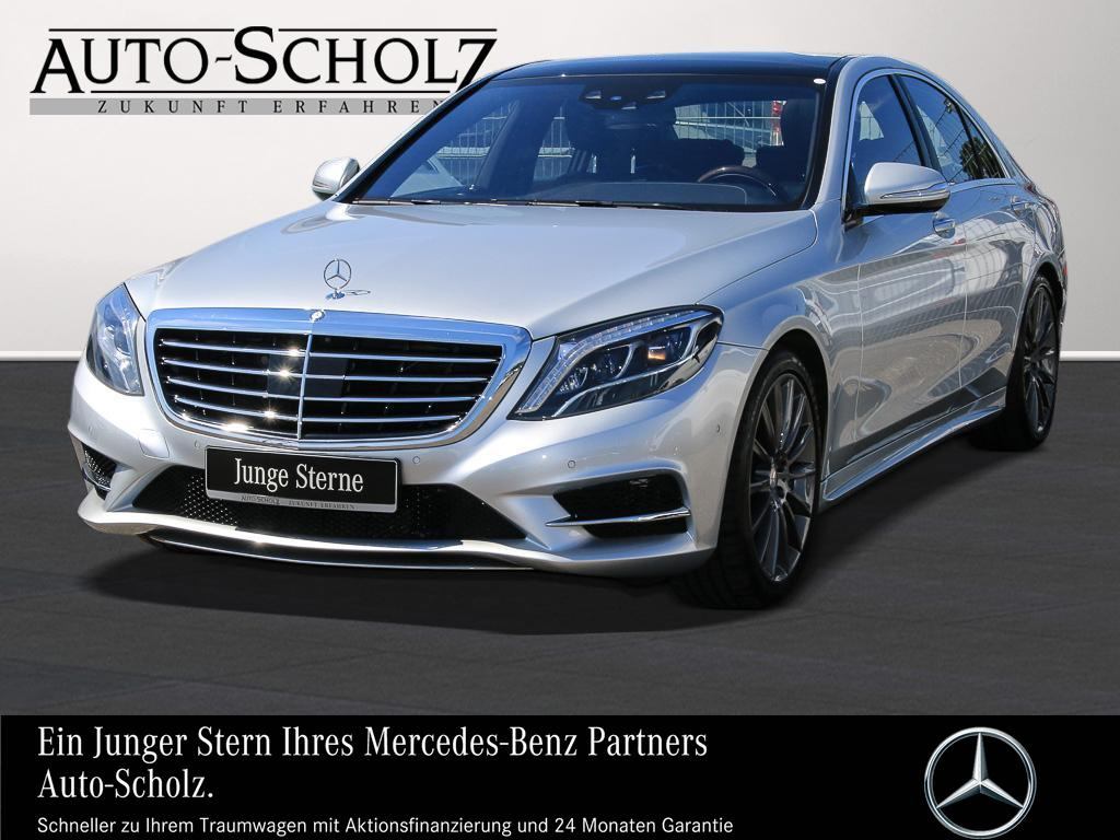 Mercedes-Benz S 500 AMG+AIRMATIC+PANO+NACHTSI+BURMES+DISTRONIC, Jahr 2014, petrol