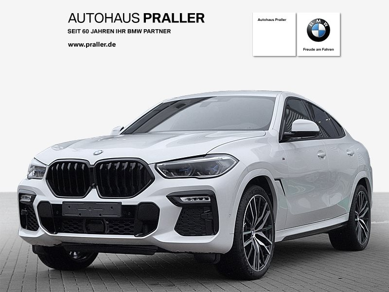 BMW X6 M 50i Laser AHK Standhz HeadUp Sitzbelüftung, Jahr 2019, petrol
