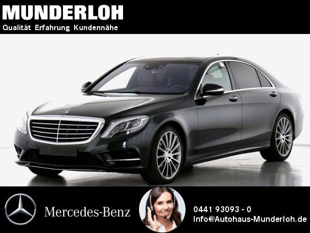 Mercedes-Benz S 350 d 4M L AMG ENTERTAINMENT KEYLESS GO ILS LE, Jahr 2015, Diesel