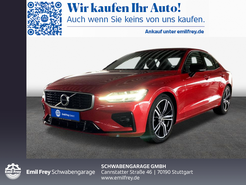 Volvo S60 T5 Geartronic R-Design IntelliSafePro, Jahr 2019, Benzin