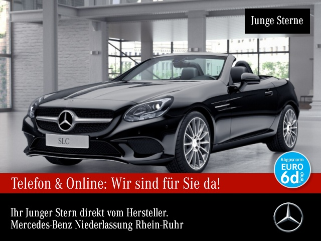 Mercedes-Benz SLC 180 Pano PTS Temp, Jahr 2018, Benzin