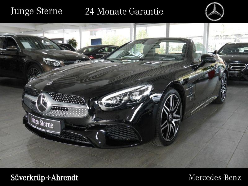 Mercedes-Benz SL 500 AMG Line Sportsound ABC Magic Distronic, Jahr 2019, petrol
