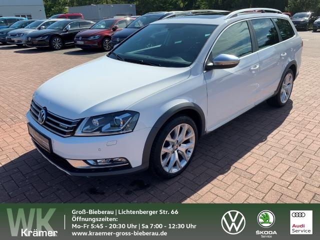 Volkswagen Passat Alltrack 4Motion 2.0 TDI REARVIEW / AHK / PANORAMA Navi Dyn. Kurvenlicht Rückfahrkam. Allrad Panorama AHK-klappbar El. Heckklappe, Jahr 2014, Diesel