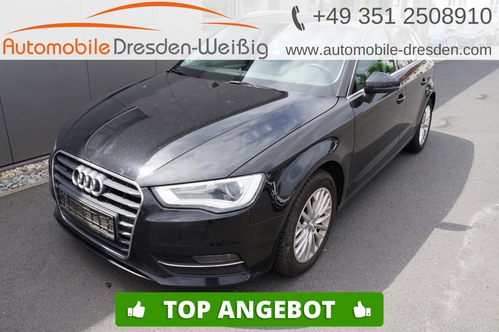 Audi A3 Sportback 2.0 TDI quattro Ambiente*Navi Plus*, Jahr 2016, Diesel
