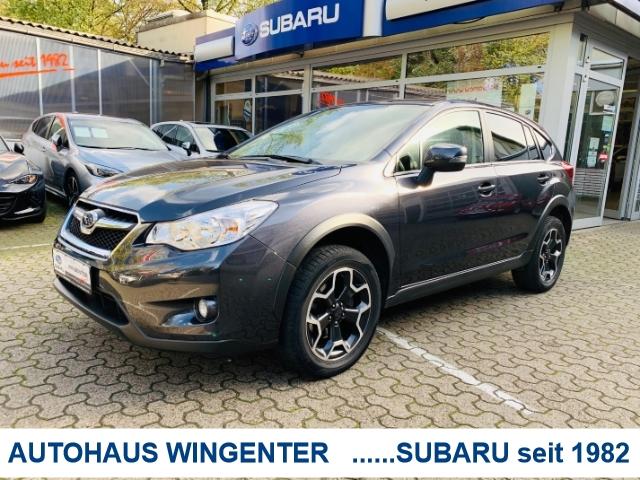 Subaru XV Comfort 1.6i*Navigation+Allwetterreifen, Jahr 2014, petrol