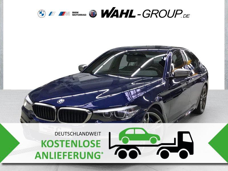 BMW M550i xDrive G30 Glasdach Standheizung Navi Prof., Jahr 2017, Benzin