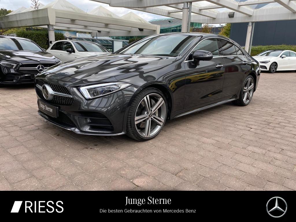 Mercedes-Benz CLS 450 4M AMG Sport Com LED Burmes Schiebe Dist, Jahr 2020, Benzin
