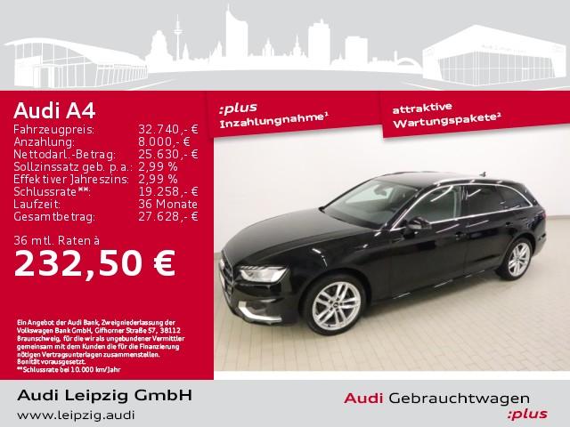 Audi A4 Avant 35 TDI advanced *LED-Paket*DAB*18Zoll*, Jahr 2020, Diesel