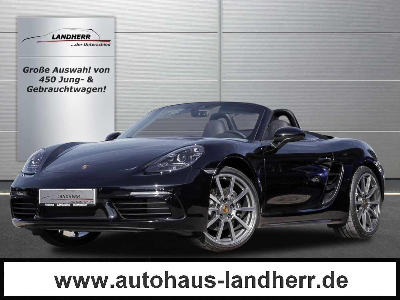 Porsche 718 Boxster PDK // Kamera/LED/Sportsitze Plus, Jahr 2019, Benzin