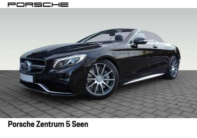 Mercedes-Benz S 63 AMG 4MATIC Cabriolet, BURMESTER, 360°, DAB, Jahr 2017, Benzin