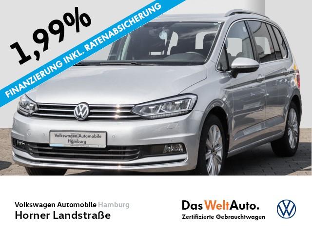 Volkswagen Touran 1.5 TSI DSG Highline 7-Sitzer LED PDC, Jahr 2020, Benzin
