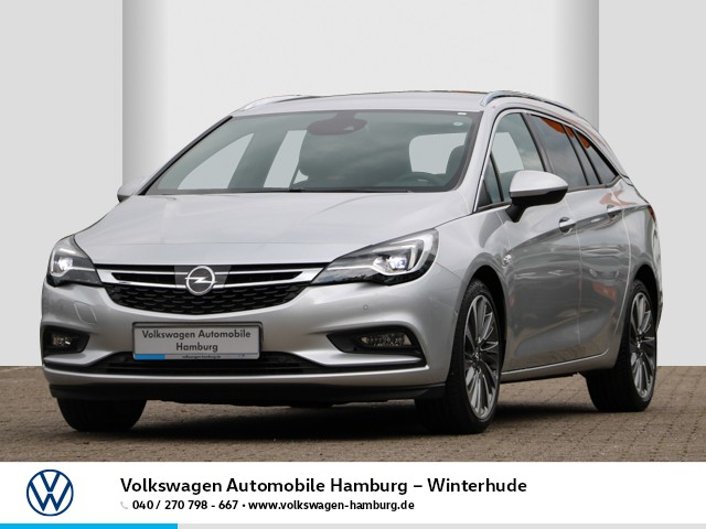 Opel Astra Kombi 1.6 BiTurbo CDTI INNOVATION Leder LED Navi AHK abn.LM Klimaautomatik, Jahr 2018, Diesel