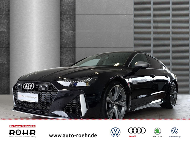 Audi RS7 Sportback (KERAM,PANO,NACHTSICHT,MATRIX,SPORTABG.,UPE 174) tiptronic quattro, Jahr 2019, Benzin