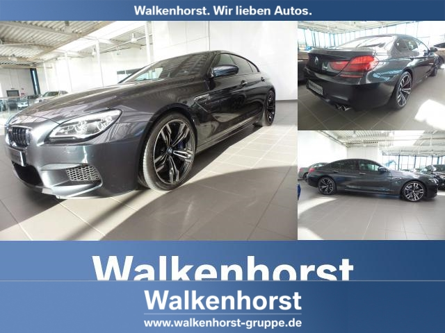 BMW M6 Gran Coupe Navi Prof LED Head-Up Sitzheizung PDC DAB WLAN, Jahr 2017, petrol