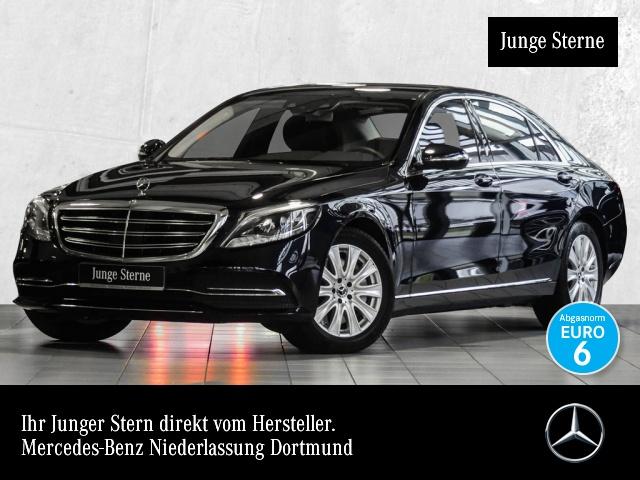 Mercedes-Benz S 560 L 4M Fahrass Airmat Burmester Distr. TV LED, Jahr 2018, petrol