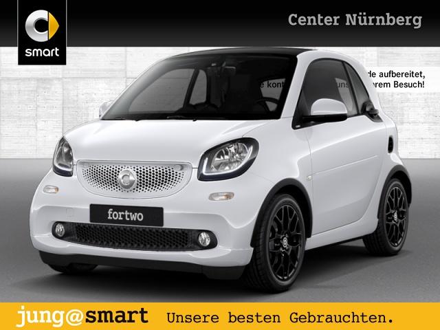 smart fortwo coupé 52kW proxy DCT cool&Media SHZ Pano, Jahr 2017, Benzin