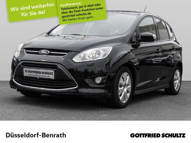 Ford C-Max 1.0 AHK-klappbar Multif.Lenkrad Klima CD ESP Regensensor Spieg. beheizbar, Jahr 2013, Benzin