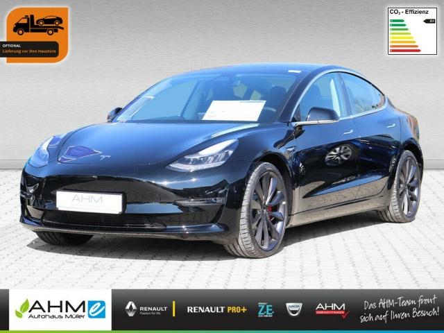 Tesla Model 3 Performance AWD -VERMIETUNG MÖGLICH- ACC, Jahr 2020, Elektro