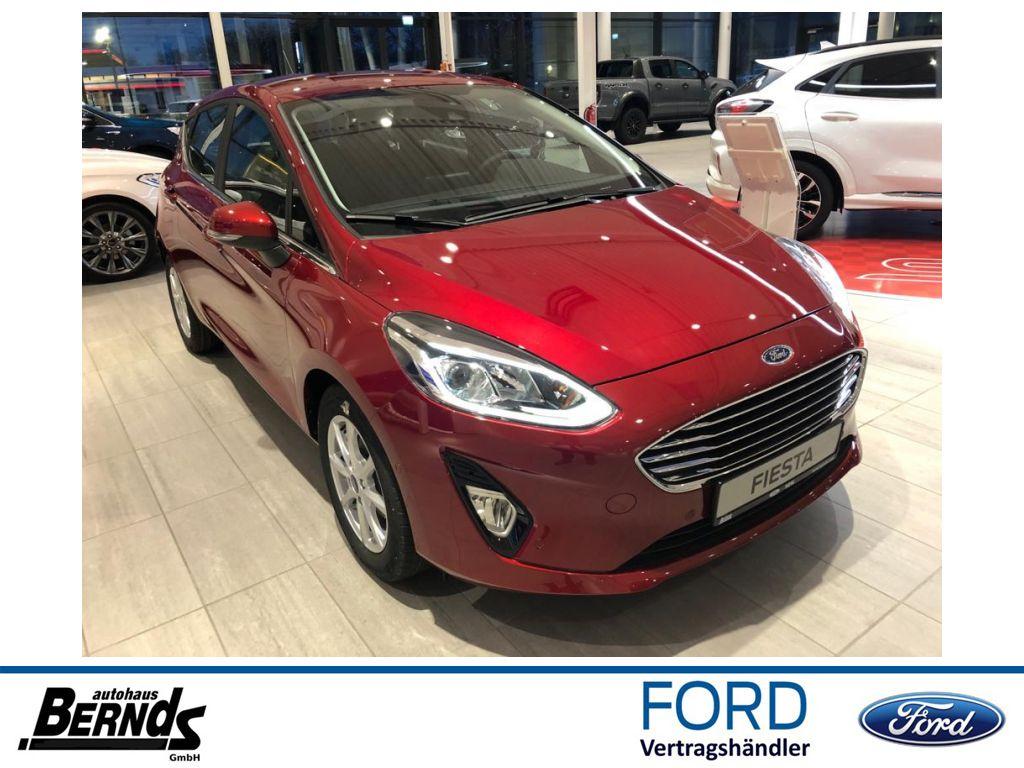 Ford Fiesta 1.0EcoBoost Hybrid S&S TITANIUM WINTERPkt, Jahr 2020, Benzin